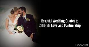 beautiful wedding quotes to celebrate love and partnership