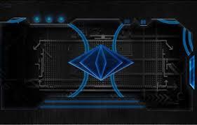 blue tech wallpaper on wallpaperget
