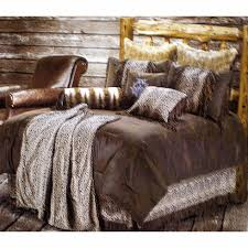 leopard print bedding set king