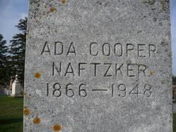 Ada Cooper Naftzker (1866-1948) - Find A Grave Memorial
