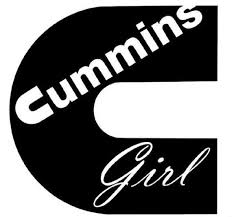 Cummins Girl Vinyl Decal Diesel Dodge Ram Truck Car Toolbox Etsy