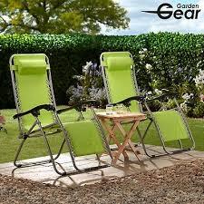 garden gear reclining chair zero