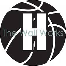 Basketball Custom Letter Wall Sticker Vinyl Decal The Wall Works