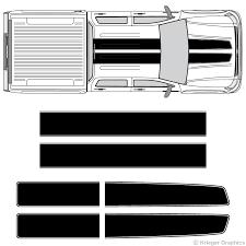 Chevy Silverado And Gmc Sierra Ez Rally Racing Stripes 3m Vinyl Decal
