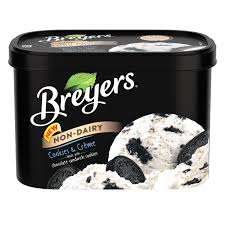 non dairy cookies crème breyers