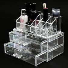 acrylic clear makeup organiser cosmetic