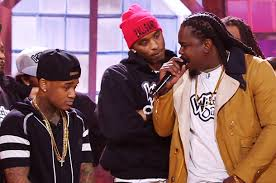 arsonal appears on wild n out against