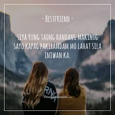 tagalog friendship quotes inspiring friendship quotes