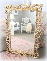 gold hollywood regency mirrors for