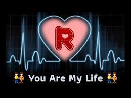 r letter whatsapp status video