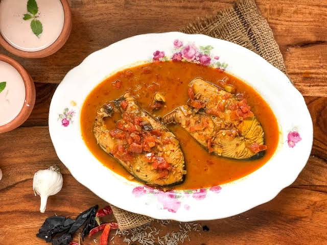 Image result for fish curry""