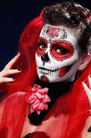 de los muertos catrina makeup and hair