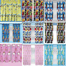 New Kids Bedroom Curtains Boys Girls Disney Character Choose One Or More Ebay