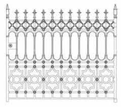 Wrought Iron Fence Panels Gates And Posts