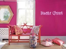 Drama Queen Girls Teen Bedroom Vinyl Wall Art Decal 36 For Sale Online