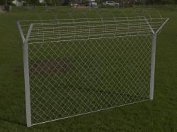 Fence Barbed Wire 3ds 3d Models Stlfinder