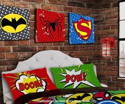 Superhero Wall Art For Boys Room Wall Art For Kids Bedroom Etsy Superhero Room Superhero Wall Decor Superhero Bedding