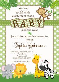 Free Safari Baby Shower Invitations Google Search Invitaciones