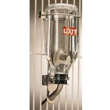 lixit bird deluxe glass water bottle 0 946l
