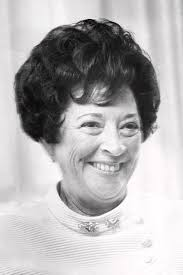 Mrs. Abraham Beame close up in 1969. Photograph by Barney Stein