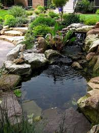 55 Most Popular Pond And Water Garden Ideas For Beautiful Backyard Ponds Backyard Pond Landscaping Landscaping With Rocks