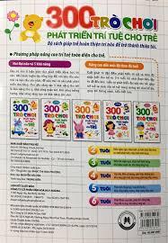 Sách 300 Trò Chơi Phát Triển Trí Tuệ Cho Trẻ 3 Tuổi - Tái Bản 2018 -  FAHASA.COM