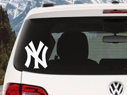 Yankees Logo Decal New York Yankees Yankees Decal New York Etsy