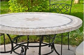 mosaic stone marble dining table mexico