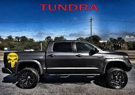 Skull Decal For Toyota Tundra Trd Vinyl Graphics Trd Tundra Decal