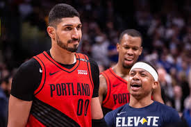 Enes Kanter Alleges the Blazers Only Gave Him Six Minutes to ...