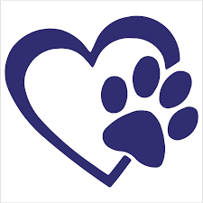 Amazon Com Heart With Dog Paw Puppy Love 4 Color Purple Vinyl Decal Window Sticker For Cars Trucks Windows Walls Laptops And Other Stuff Automotive