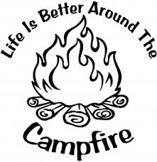 Life Is Better Around The Campfire Car Or Truck Window Decal Sticker Or Wall Art All Time Auto Graphics