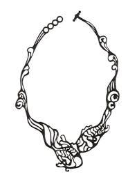 batucada fish necklace sweater venture