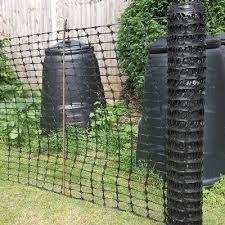Complete Kits 50m Black Temporary Fence Kit Medium Duty