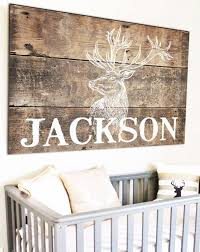 Personalized Woodland Nursery Name Sign Kids Room Name Sign Knox Baby Name Ideas Of Knox Baby Name Knoxbabyn Rustic Nursery Kid Room Decor Nursery Themes