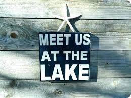 lake signs decor zonnesteek info