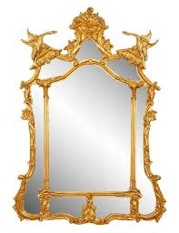 bros chinese chippendale style mirror