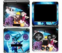 Naruto 002 Vinyl Decal Skin Cover Sticker For Game Boy Advance Gba Sp 707948352948 Ebay