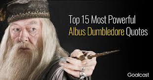top most powerful dumbledore quotes