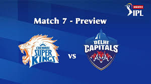 CSK vs DC IPL 2020 Match 7: Match build ...