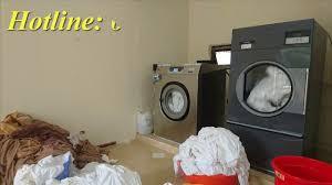 Máy giặt công nghiệp HE 80 Image Thái Lan - YouTube