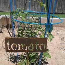 metal garden markers n z herb marker