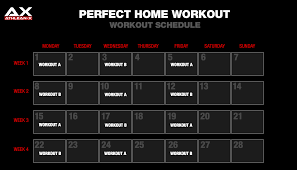 the perfect home workout athlean x