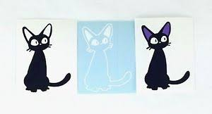 Studio Ghibli Kiki S Delivery Service Black Cat Jiji 2 Vinyl Sticker Decal Vinyl Sticker Studio Ghibli Black Cat