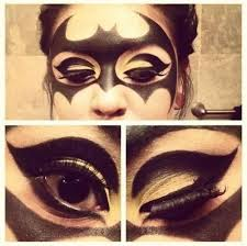 batman makeup uploaded by mielletanne