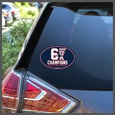 Nfl Superbowl Champions 6x New England Patriots Patriots Etsy