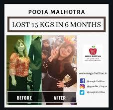 POOJA MALHOTRA - LOST 15 KGS 6 MONTH - Dr Geetika's Magic Dietitian