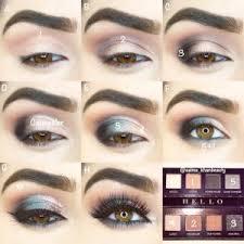 emo makeup tutorial for hazel eyes