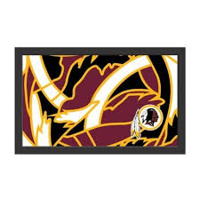 Nfl Fit Washington Redskins 10 X16 Canvas Wall Art Alahagh