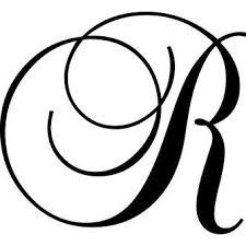 Letter N Wall Decal Letter R Cursive Alphabet Lettering Alphabet